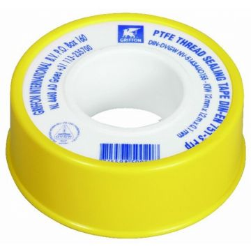Griffon tape (voor water) 12x0.1 mm  rol á 12 mtr