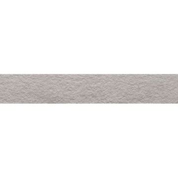 Mosa Terra Maestricht reliëf vloerstrook keramisch 10x60 cm, midden grijs