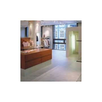 Mosa Terra Maestricht keramische vloerstrook 5x60 cm, koel wit