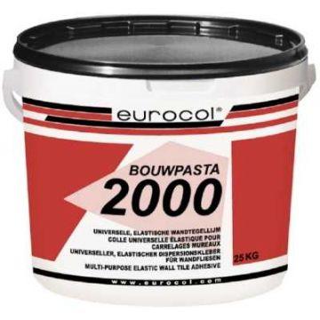 Eurocol 2000 Bouwpasta tegelpastalijm emmer à 18kg