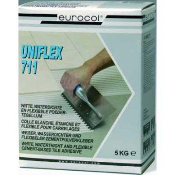 Eurocol 711 Uniflex poedertegellijm à 5kg, wit