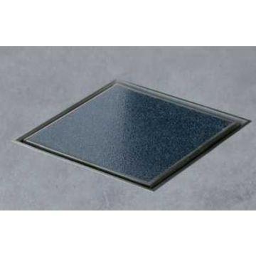 Easy Drain Aqua Jewels quattro vloerput rvs 20x20 cm, zu multi, tegel / rvs