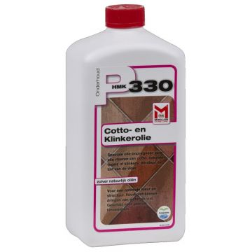 Moeller P330 Cotto- en klinkerolie impregneermiddel flacon 1 liter