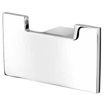 Geesa Modern Art handdoekhaak dubbel 4,5 x 8 x 2,5 cm, chroom