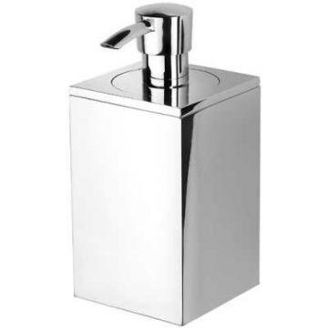 Geesa Modern Art zeepdispenser wandmodel, chroom