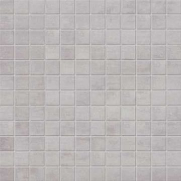 Mosa XXS keramische tegelmat 30x30 cm, 2,3x2,3 cm, midden grijs