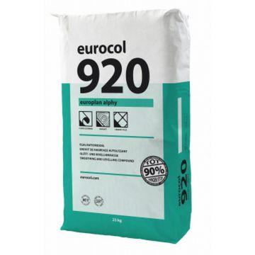 Eurocol 920 Europlan Alphy egaliseermiddel zak à 23kg