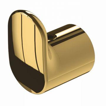 Geesa Tone handdoekhaak mini, goud