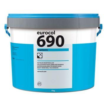 Eurocol 690 Tegelpasta pastategellijm emmer à 8kg