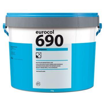 Eurocol 690 Tegelpasta pastategellijm emmer à 4kg