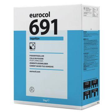 Eurocol 691 Tegellijmtegelpoederlijm doos 5x5kg
