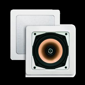 AquaSound Samba speakerset 177x177x65 80w, wit