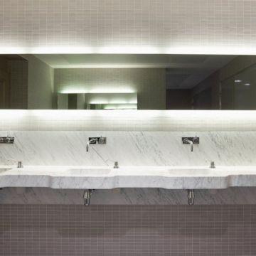 Mosa XXS keramische tegelmat 30x30 cm, 7,3x2,3 cm, antraciet
