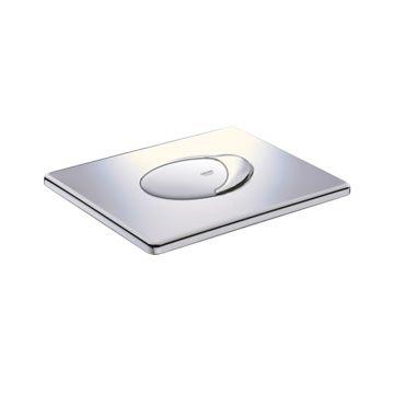 GROHE Rapid SL bedieningspaneel SL dual flush horizontaal 1,1 x 19,7 x 15,6 cm, chroom