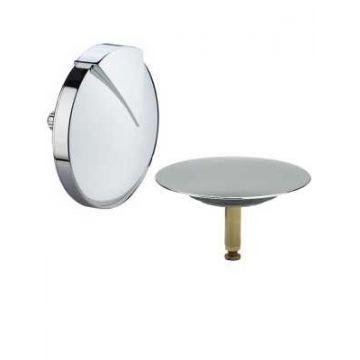 Viega Multiplex Visign M1 afbouwdeel voor badwaste, chroom