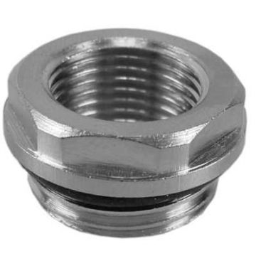 Sub radiator reduceerplug 1/2x3/4 met O-ring
