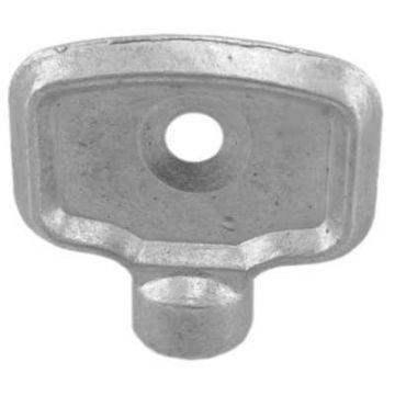 Sub radiator ontluchtingssleutels, per stuk, metaal