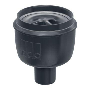 ACO Showerdrain Easyflow afvoerput verticaal uitlaat 50mm,stankslot 50mm, grijs