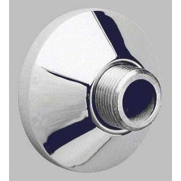 GROHE S-koppeling 1/2''x1/2'' met rozet, chroom