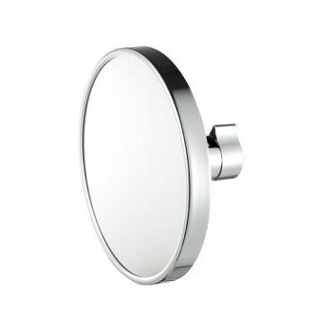 Geesa make-up spiegel met buisklem 3x vergrotend 19 cm, chroom