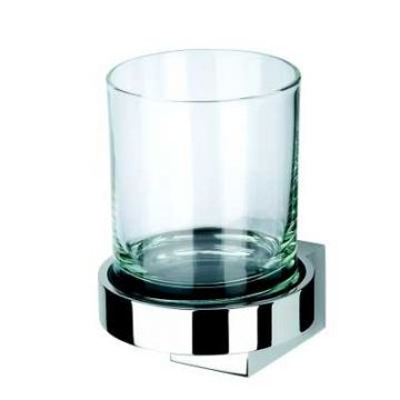 Geesa Nexx glashouder met glas, chroom