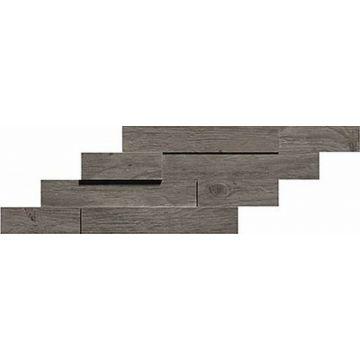 Atlas Concorde Axi keramische tegelmat brick 3D 20x44 cm, grey timber