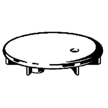 Viega Domoplex afbouwdeel voor doucheafvoer 5,2cm, chroom