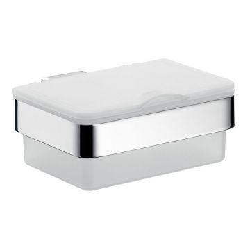 Emco Loft box voor vochtige doekjes 6,1 x 14 x 13 cm, chroom
