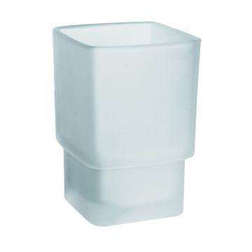Emco Loft los glasdeel voor glashouder, mat glas