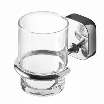 Geesa Thessa glashouder met glas, chroom