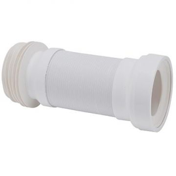 Wisa Flexicon flexibele afvoerslang diameter 110mm, wit
