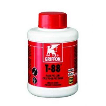 Griffon T-88 thf lijm kiwa m/kwast 500 ml,