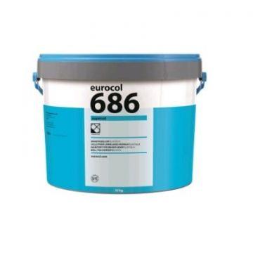 Eurocol Supercol pasta tegellijm emmer a 18 kg.