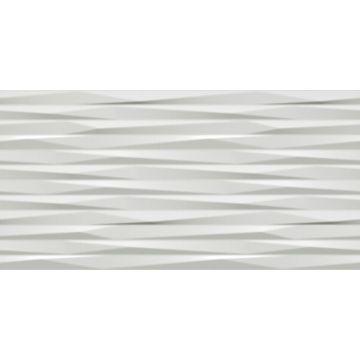 Atlas Concorde 3D Wall Design keramische decortegel blade 40x80 cm, white