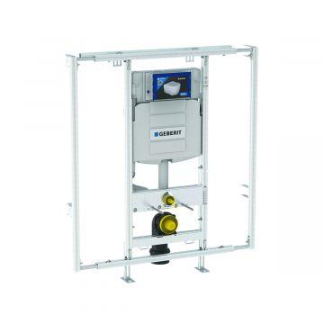 Geberit GIS-module voor wand-wc, met Sigma inbouwreservoir 12 cm, in breedte verstelbaar 90-125 cm