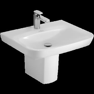 Villeroy & Boch Subway 2.0 sifonkap voor wastafel, wit alpin ceramicplus