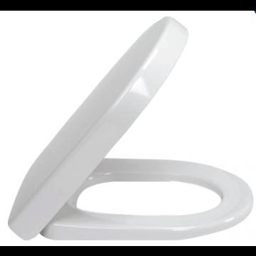Villeroy & Boch Subway toiletbril met deksel en quickrelease, wit