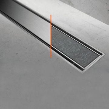 Easy Drain Compact 50 TAF afvoergoot 90 cm rooster als Zero of voor tegel, rvs