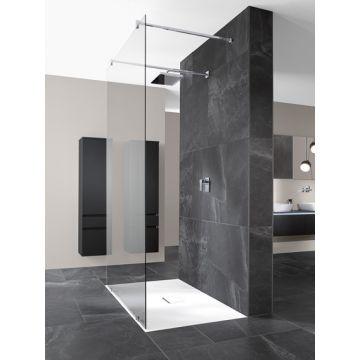 Villeroy & Boch Squaro Infinity rechthoekige douchevloer 4 x 140 x 90 cm, Stone White