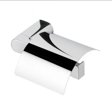 Geesa Wynk toiletrolhouder met klep rechts 174 x 51 x 132 mm, chroom