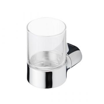 Geesa Wynk glashouder met glas, chroom