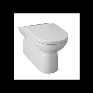 Laufen Pro Back-to-wall duobloktoilet diepspoel zonder toiletzitting PK 67 x 36 x 40 cm, wit