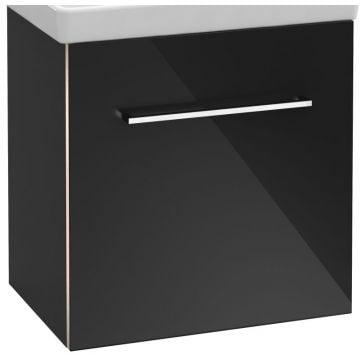 Villeroy & Boch Avento wastafelonderkast 51,2x52x34,8 cm met deur scharnier links, crystal grey