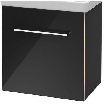 Villeroy & Boch Avento wastafelonderkast 51,2x52x34,8 cm met deur scharnier rechts, crystal grey