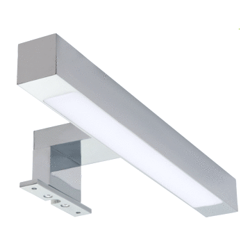 Wavedesign Mae LED-spiegellamp 30 cm 4W 220V, chroom