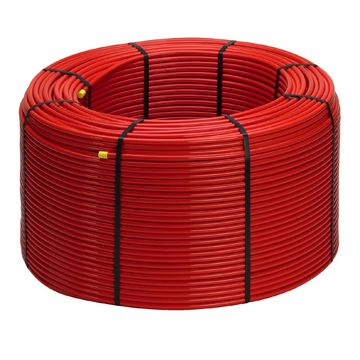 Viega Fonterra vloerverwarmingsbuis rol a 650 m..diffusiedicht, rood