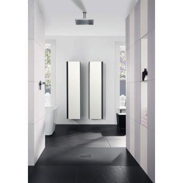 Villeroy & Boch Squaro Infinity rechthoekige douchevloer 4 x 120 x 90 cm, antraciet
