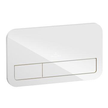Villeroy & Boch ViConnect M200 bedieningspaneel waterbesparend, glossy white
