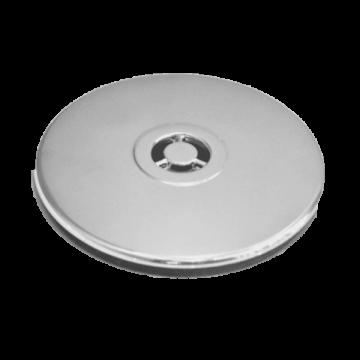 Hüppe afvoergarnituur met deksel 90 mm, rond 0,5l/s, chroom