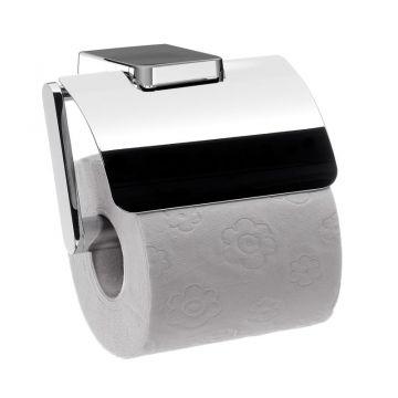 Emco Trend toiletrolhouder met klep 8,7 x 12,4 x 11 cm, chroom